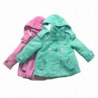 Buy cheap Kids'/Girl's/Babies' Wool/Winter Coats, Clothes Winter, Solid Colors, Brand Kids' Wear from wholesalers