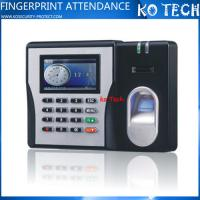 Buy cheap KO-MX629 Best Selling In India Biometric Time Reader Attendance Tracking from wholesalers