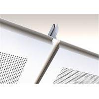 China White Suspended Ceiling Tiles Heat Insulation For Office Building on sale
