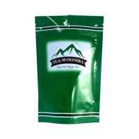 Buy cheap Aluminum foil Pouch Glossy Tea Leaf Bag Paper Packaging With Stand Up Ziplock Pouch from wholesalers