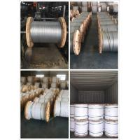 """1/4"""",9/32"""",3/8"""",7/16"""",1/2"""",9/16"""",5/8"""" Galvanized Steel Wire Strand for Cable/guy wire/stay wire/messenger/ACSR Conductor Manufactures"""