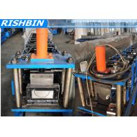 Buy cheap 5   6   7   Portable Mobile Round Gutter Roll Forming Machine For Half Round Gutter from wholesalers