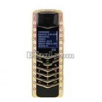 Wholesale Luxury Signature Diamonds Rose Gold Pink Sapphires Mobile Phone from china suppliers