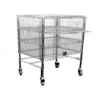 Buy cheap multi-layers of stainless steel wire-mesh trolleys(handcart) from wholesalers