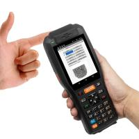 Buy cheap 4GB Industrial Barcode Scanner 7.4V 3400mAH Lithium Battery With Thermal Printer from wholesalers