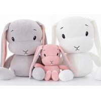 Buy cheap Custom Personalised Plush Toys / LUCKY Stuffed Bunny Rabbit Toys 30 - 70cm Size Optional from wholesalers