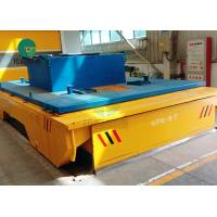 Buy cheap Battery Operated Rail Guided Powered Transfer Trolley For Paper Making Industry from wholesalers