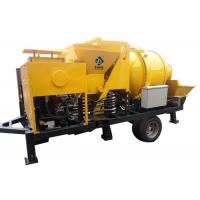 Buy cheap Mobile Diesel Concrete Mixing And Pumping Machine 40m3/H With S Gate Valve from wholesalers