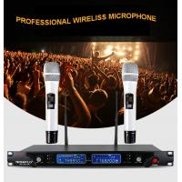 Automatic frequency professional wireless microphone SE-2013R, high quality PLL wireless collar micorphone for singing Manufactures