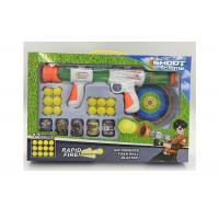 Wholesale Safe Kids Sports Toys Pump And Launch Blaster Shooting Toy Gun With Foam Balls from china suppliers