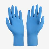 Buy cheap Allergy Resistance Unisex Powder Free Nitrile Gloves High Density High Elasticity from wholesalers