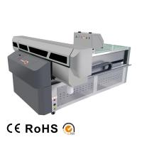 Buy cheap Digital UV Flatbed Printing Machine , High Intellectualization Industrial UV Printer from wholesalers