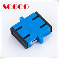 Buy cheap SC / UPC Fiber Optic Patch Cables , Blue Duplex Fiber Optic Cable Adapter from wholesalers