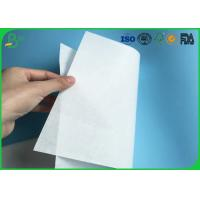 Buy cheap Environmental Friendly 30gsm 35gsm 40gsm White Kraft MG Paper For Making Food Packaging from wholesalers