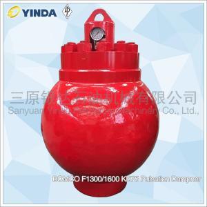 Wholesale BOMCO Mud Pump Dampener F1300/1600 KB75 Pulsation Dampner Piston Pump from china suppliers