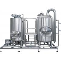 Buy cheap CE / ISO 1000L Professional Brewing Equipment SUS304 PLC Control Steam Heating from wholesalers