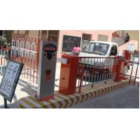 Short Range 3 - 15CM Card Swiping Smart Car Parking System with LED Graphic Display 80W Manufactures