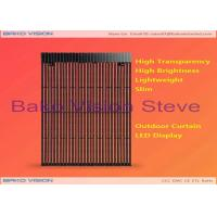 Buy cheap Commercial Advertising Outdoor Fixed LED Display DIP P15.625 P25 Mesh Screen Sign Billboard from wholesalers