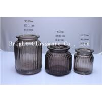 Buy cheap spray color glass candle jar wholesale from wholesalers
