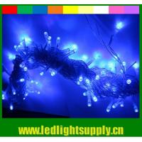 China Strong PVC 100 bulbs 12v led string lighting warm white for outdoor on sale