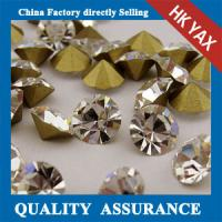 Buy cheap point back glass rhinestones wholesale,glass rhinestones point back for garment,pointback glass stone from wholesalers
