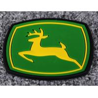Custom Multicolor Label logo raised rubber patches for shoes and garment etc