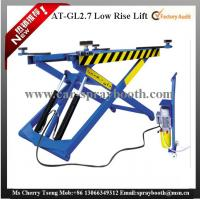 Buy cheap AT-GL2.7 Thin Structure Hydraulic Car Lift , Automotive Scissor Lift For Tyre Repair from wholesalers