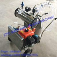 Buy cheap Gasoline-Vacuum Pump Dual-Typed Single Bucket Portable Milking Machine,Double Motor for cow and goat,easy handle machine from wholesalers