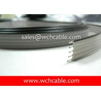 XLPE Flat Ribbon Cable UL21016 #28AWG 26Pins 0.90mm Pitch Tinned Stranded Copper Conductors Manufactures