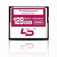 Buy cheap 800X CF/Compact Flash Card with 120m/s (32/64/128G)  from wholesalers