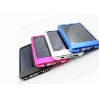 5000mAh Portable Solar Power Bank Rechargeable Batteries Charger Waterproof Manufactures