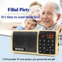 Buy cheap Personal LED Flashlight HIFI Portable FM Radio Digital Music Mp3 Player Speaker Support SD/TF Card/USB from wholesalers