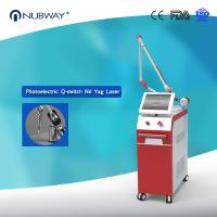 Buy cheap 4 Wavelengths 1064nm&532nm&585nm&755nm Q switch Nd Yag Laser for All Tattoo Colors Removal from wholesalers