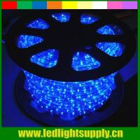 Buy cheap blue waterproof led strip lights 2 wire led christmas rope light from wholesalers