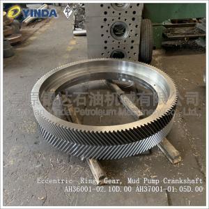 Wholesale EccentricRingGear Mud Pump Crankshaft AH36001-02.10D.00 High Rigidity from china suppliers