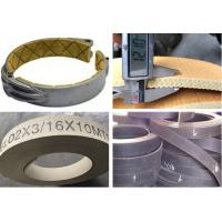 Buy cheap Flexible Brake Band Lining Woven Roll Lining With Brass Wire Reinforced from wholesalers
