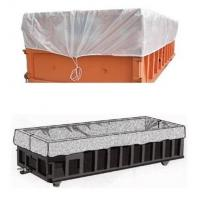 Buy cheap Large durable drawstring dumpster container liner for garbage disposable,dump truck liner |plastic bed liners for dumpst from wholesalers