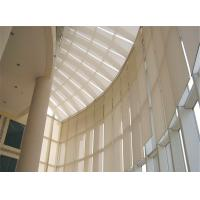 Buy cheap Internal Tension Sun Shades Architectural Building Shade Motor Remote Control from wholesalers