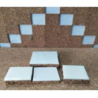 Buy cheap 40x40x10mm Glass & Mirror Seperating Cork Pad with PVC Foam Backing from wholesalers