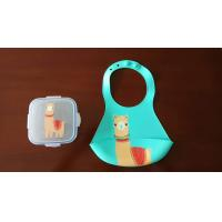 Buy cheap Outside Dinner Cute Baby Bibs Set Colored High Durability Easy To Take Out from wholesalers