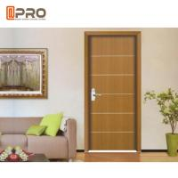Buy cheap Modern Aluminum MDF Interior Doors For Home / Hotel And Apartment from wholesalers
