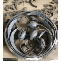 Buy cheap ISO9001 Cast Iron Ornaments Decorative Iron Panels Antirust Oil Surface Finish from wholesalers