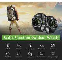 Buy cheap Durable multisport watch with a long battery life and barometric compass weather forecast military smart watch from wholesalers