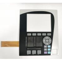 Buy cheap Pocket design membrane switch with PCB board and FPC cable,Embossed PET membrane switch from wholesalers
