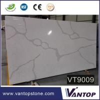 Buy cheap Good Price Cambria Calcutta Marble Engineering Quartzite Slab for Kitchen from wholesalers