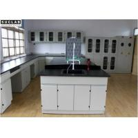 Buy cheap University Laboratory Steel Lab Bench Electric Supply Customized Size from wholesalers