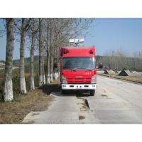 China Large Capacity Motorized Fire Truck ISUZU Gas Supply ISO9001 Certificated on sale