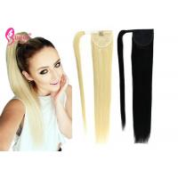 Buy cheap 100% Durable Ponytail Extension Human Hair / Remy Human Hair Ponytail For Young from wholesalers