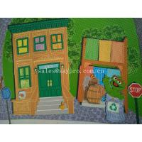 Cartoon Style Soft Neoprene Fabric Roll Patten Games Play Baby Crawling Play Mats Manufactures