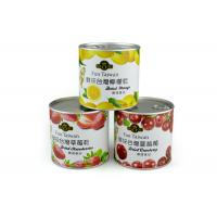 Buy cheap Eco-friendly Custom Paper Composite Cans Waterproof Aritight for Food from wholesalers